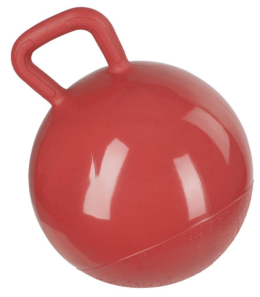 Spielball für Pferde rot