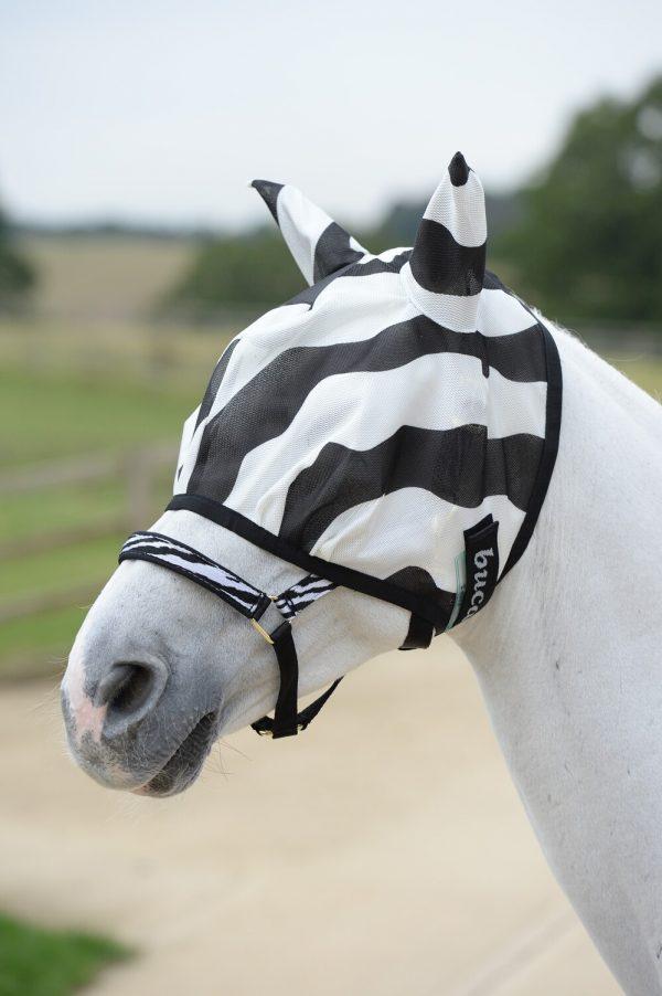 Fliegenmaske Buzz-Off Zebra Bucas
