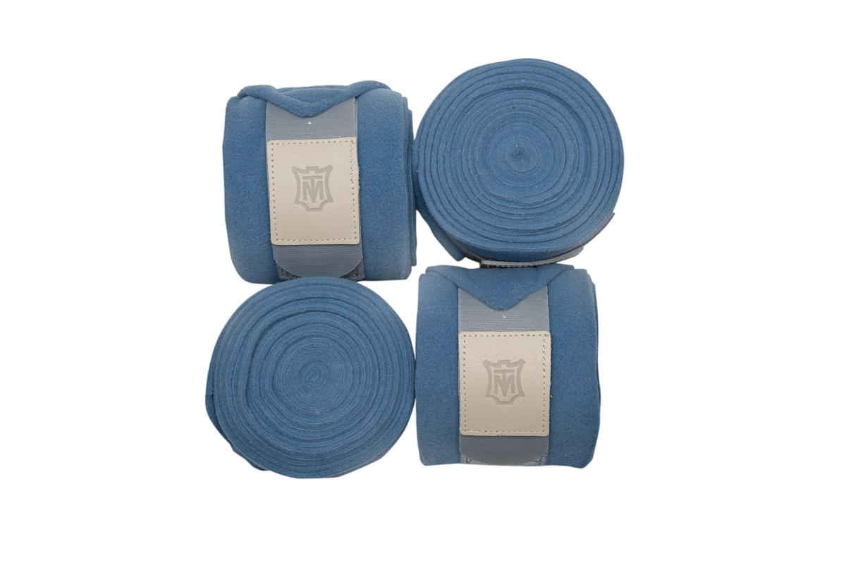 Mattes Bandagen Fleece cornet blue