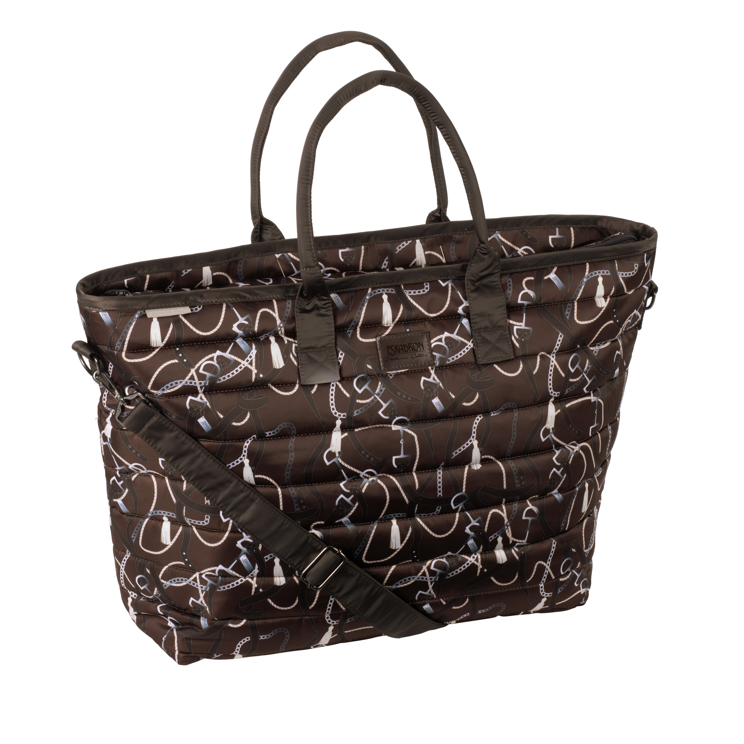 Eskadron Shopper Bag Glossy Dessin Platinum 20/21