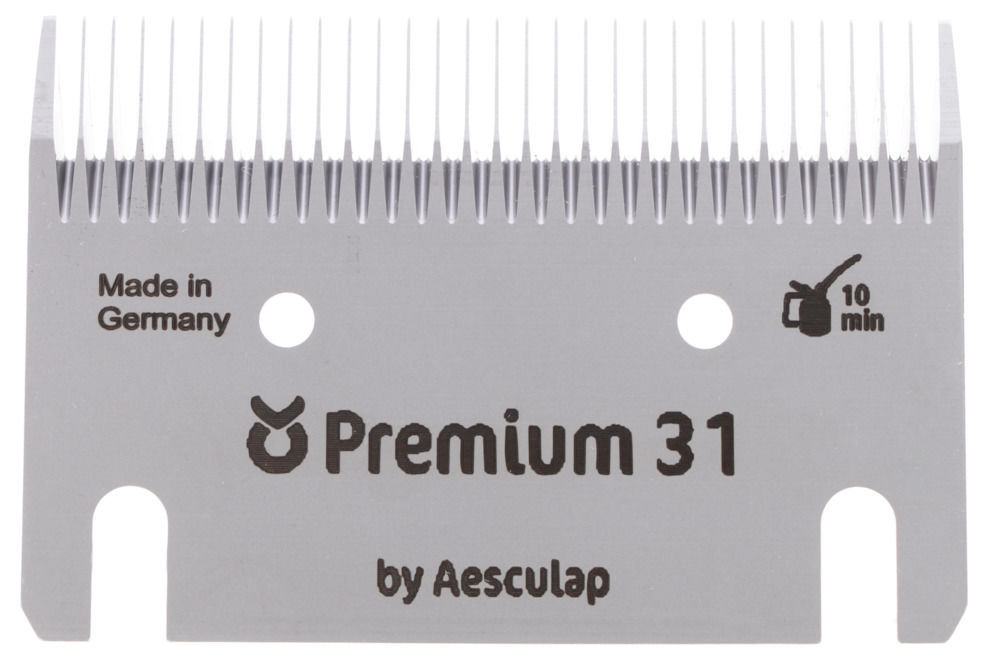 Schermesser-Set Premium Pferd/Rind 31/15Z