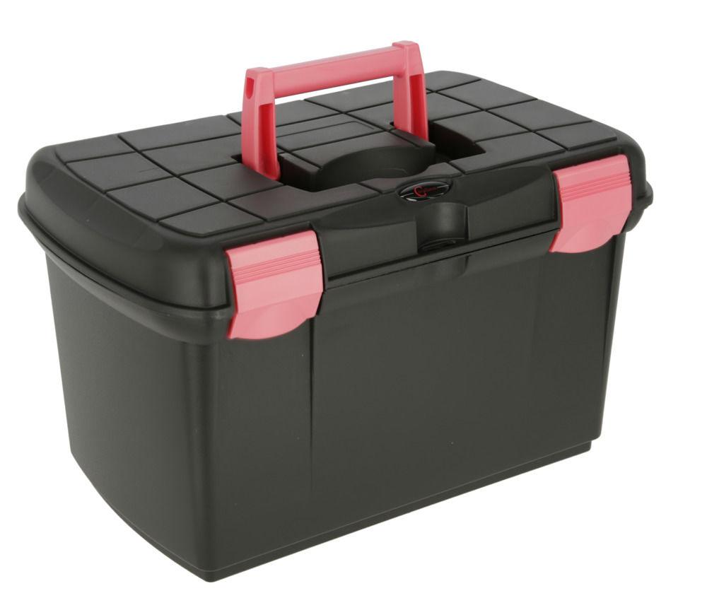 Putzbox Arrezzo schwarz/fuchsia