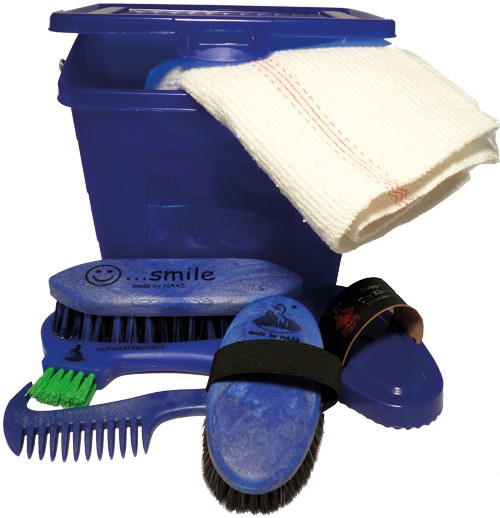 Haas Kinder- Putzbox blau