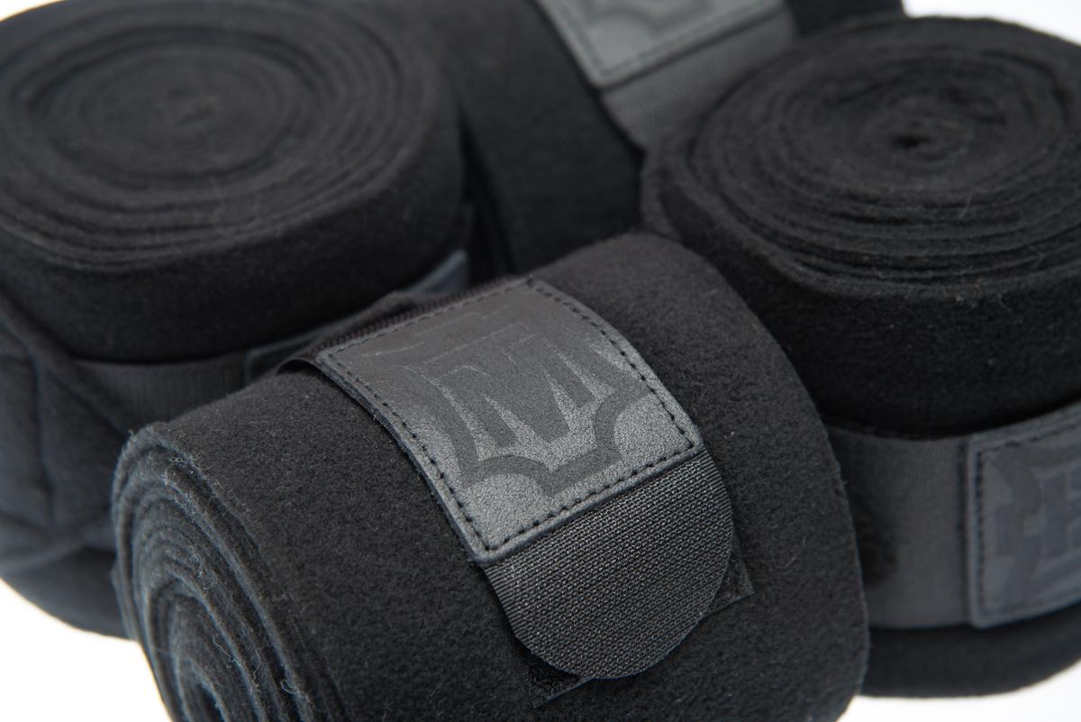 Mattes Fleece Bandagen Deluxe 20/ black