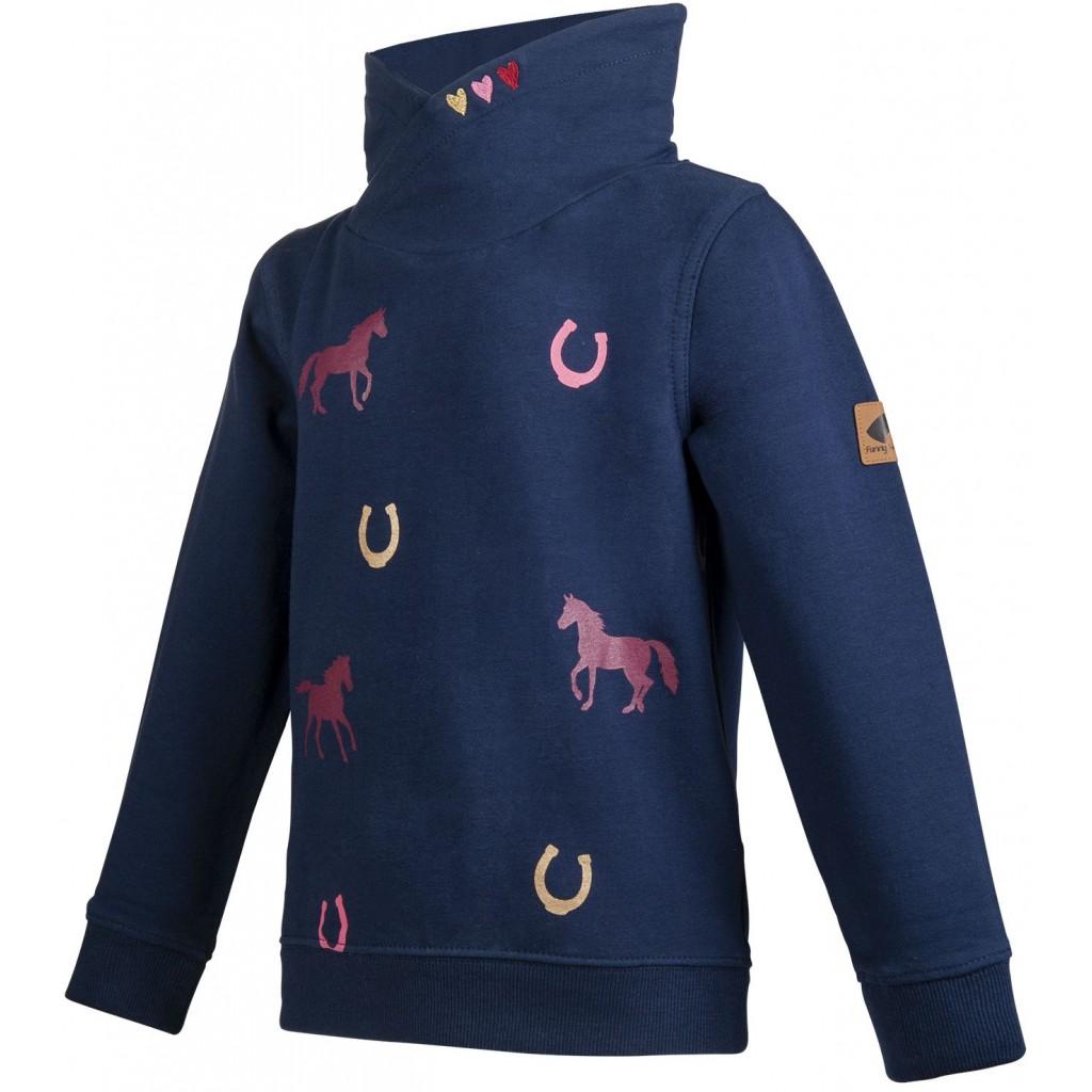 Kinder Sweater Horses HKM