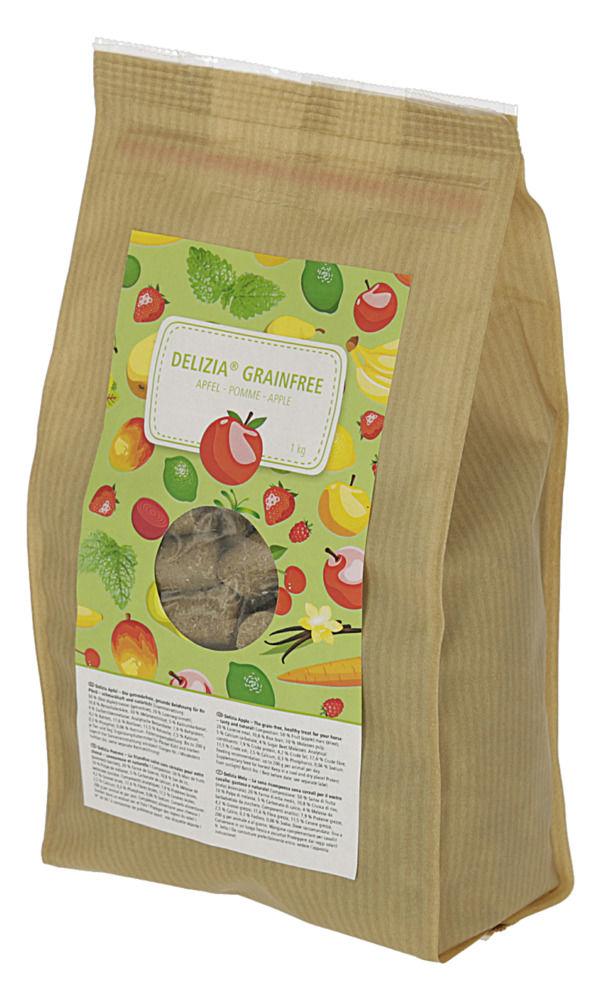 Delizia Getreidefrei Apfel- Belohnungswürfel