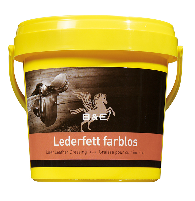 B&E Lederfett farblos 100ml Dose