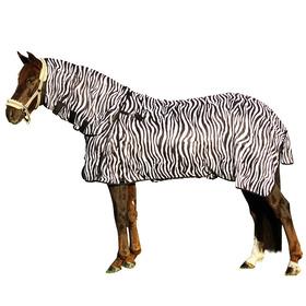 Fliegendecke Zebra mit Halsteil