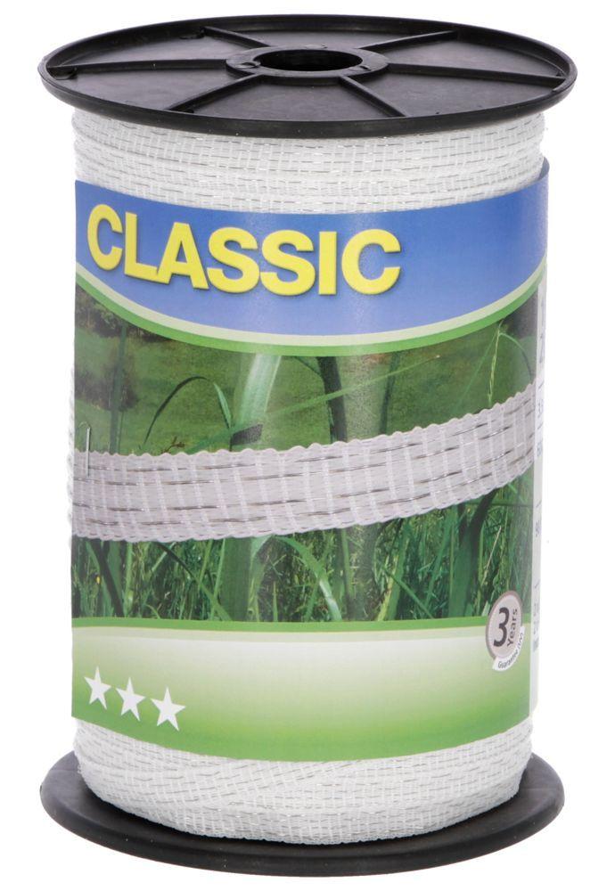 Classic Weidezaun- Band 200m/ 10mm
