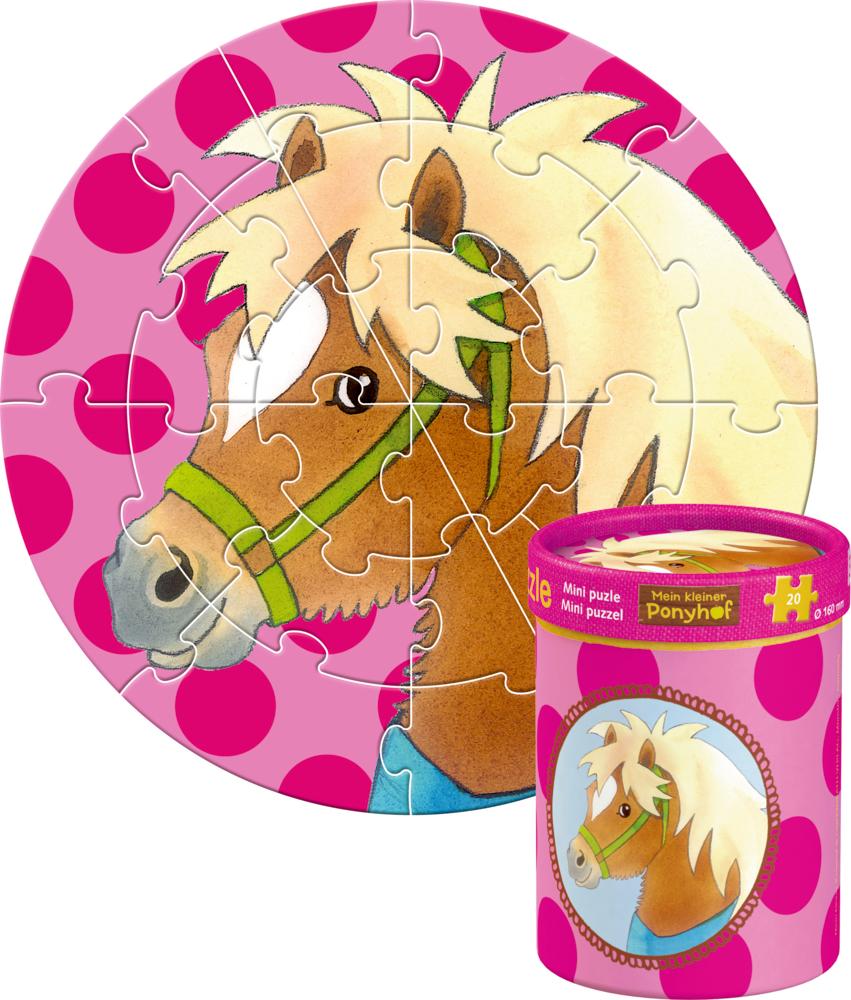 Kleiner Ponyhof Mini Puzzle