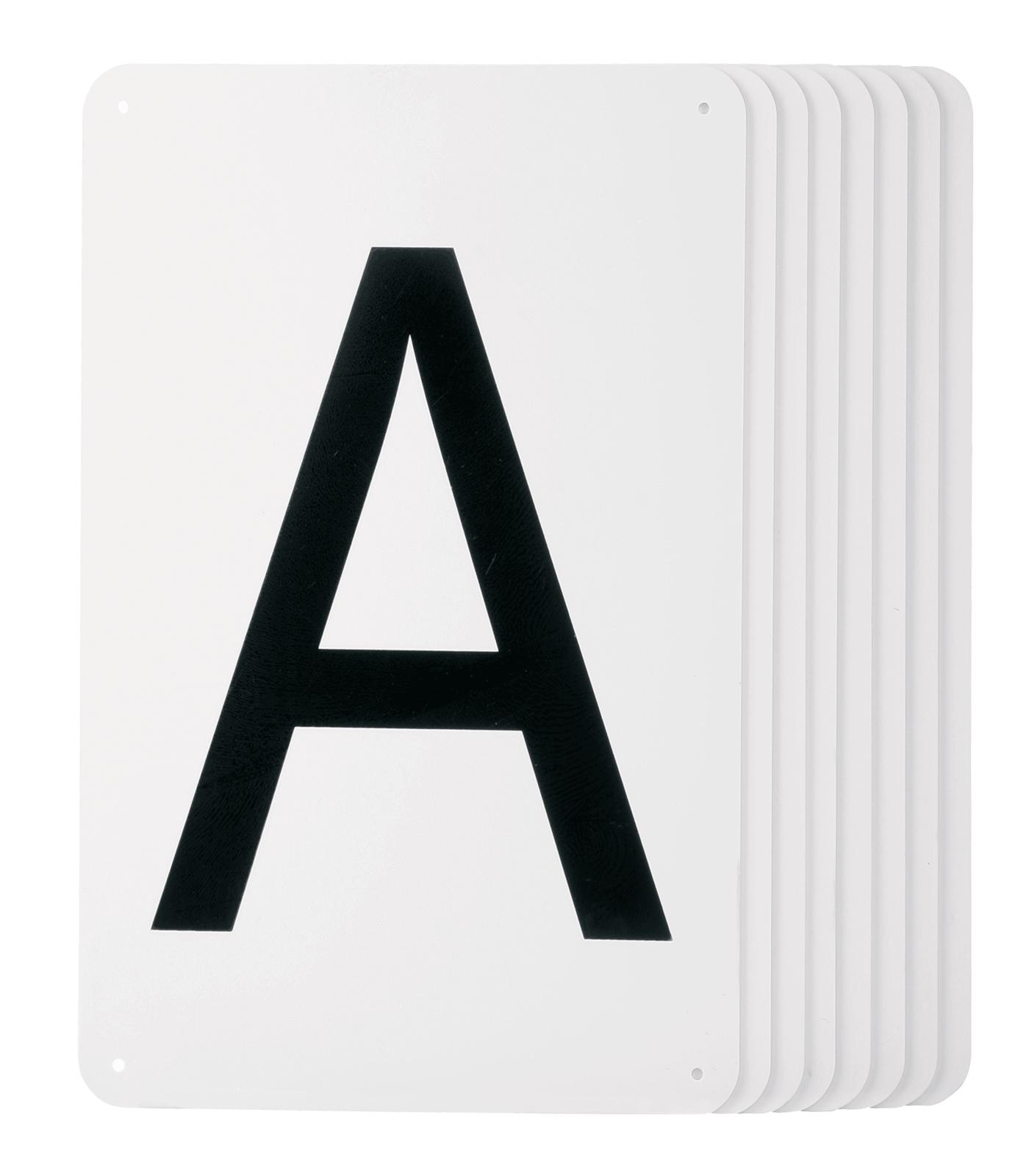 Bahnbuchstaben 20x40m Viereck