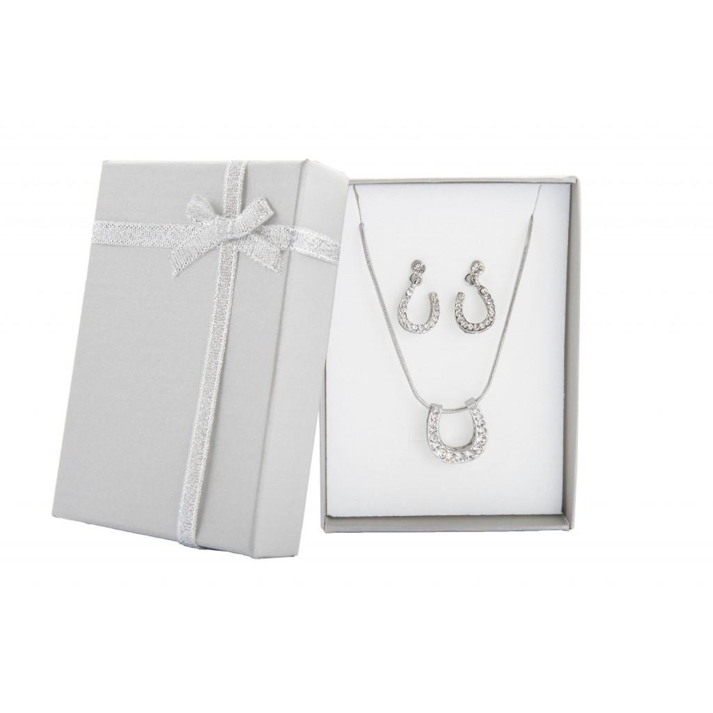Halskette & Ohrringe Set