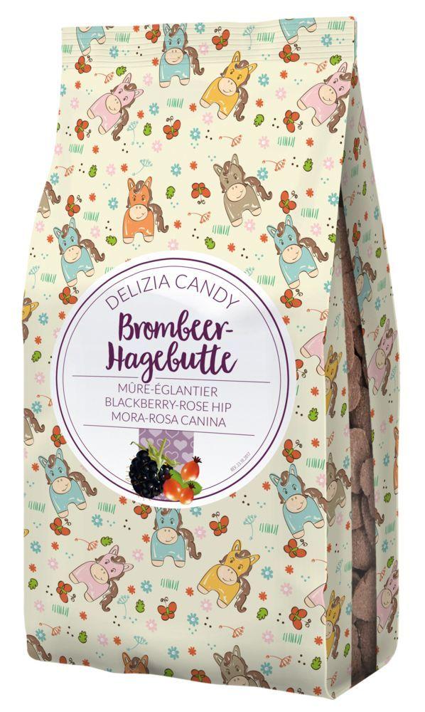 Delizia Candy Brombeere/Hagebutte in Herzform 600g