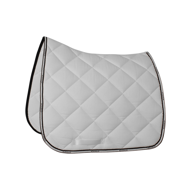 ACavallo Plain Cotton Schabracke Dressage Pad